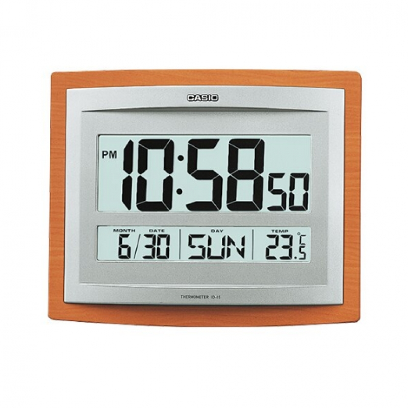 Casio Digital Wall Clock ID 15S-5DF