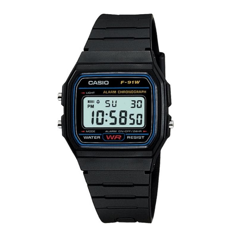 Casio Retro Watch F 91W-1DG