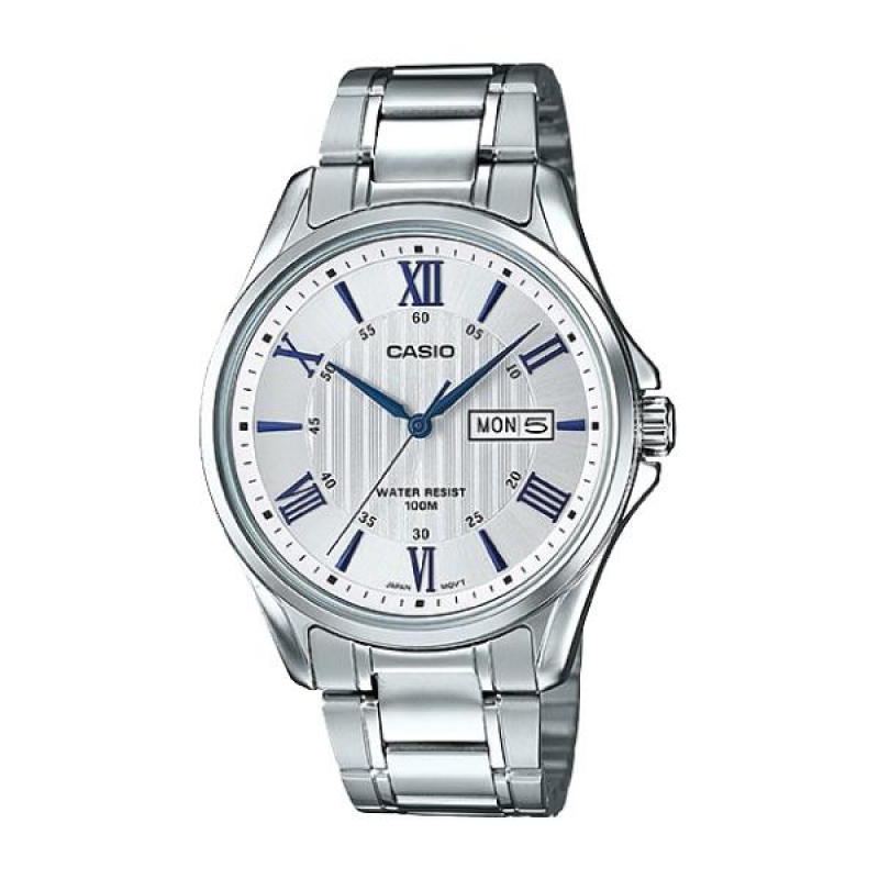 Casio Day-Date Analog Wrist Watch For Men MTP 1384D-7A2VDF