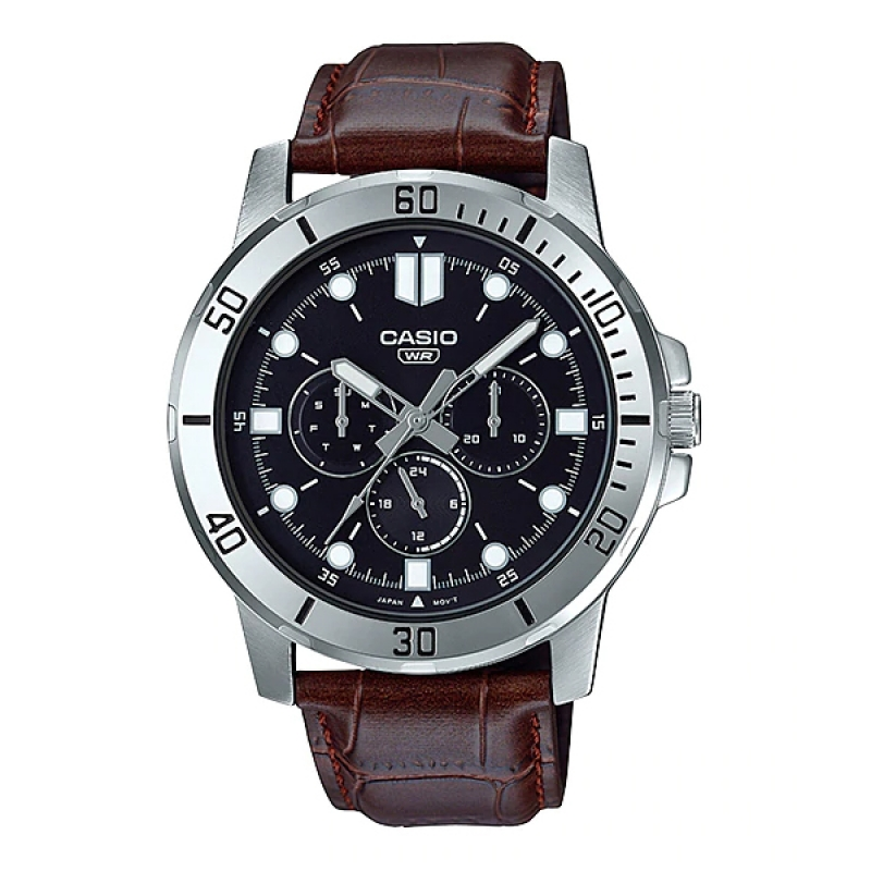 Casio Multifunction Watch for Men MTP VD300L-1EUDF