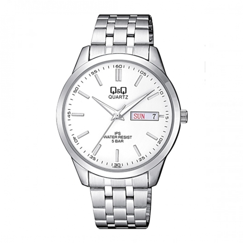 Q&Q Watch for Men Day-Date Analog CD02J201Y