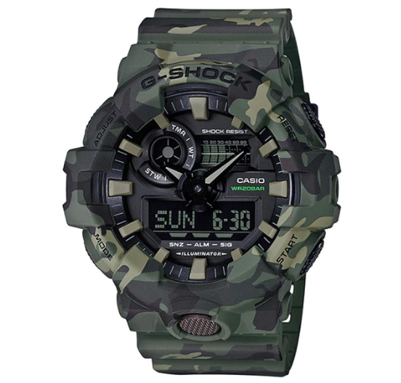 G-Shock Watch For Men GA-700CM-3ADR
