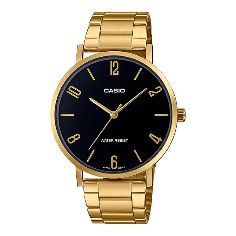 Casio Watch For Men MTP VT01G-1B2UDF