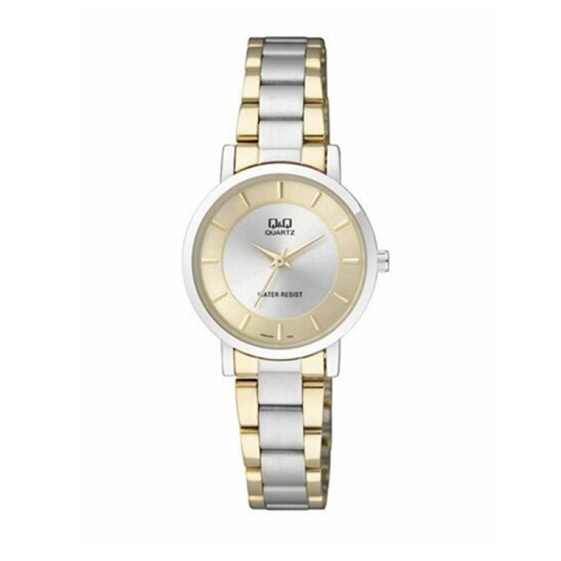 Q&Q Q945J401Y Analog two tone Wrist watch for ladies
