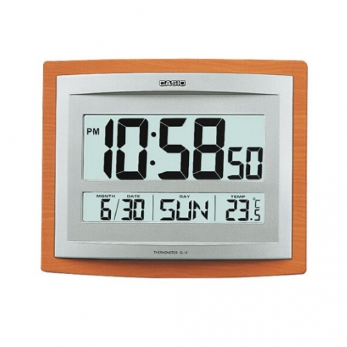 Casio Digital Wall Clock ID 15S-5DF