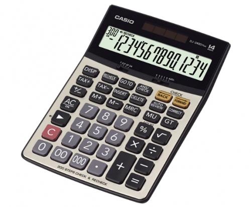 Casio Calculator For Desktop or Office DJ 240D Plus
