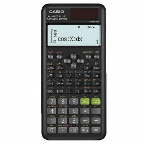 Casio FX 991ES Plus 2nd Edition  Scientific Calculator - Black
