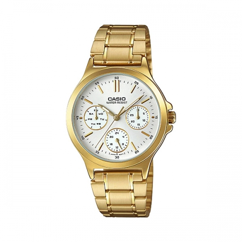 Casio Multifunctional Watch For Women LTP V300G-7AUDF