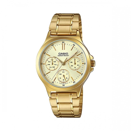 Casio Multifunctional Watch For Women LTP V300G-9AUDF