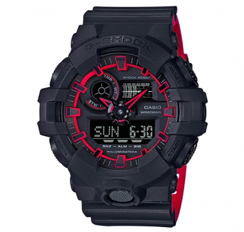 G-Shock Watch For Men GA 700SE-1A4DR