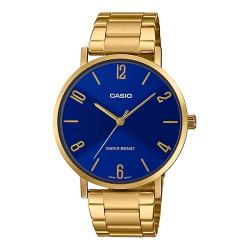 Casio Watch For Men MTP VT01G-2B2UDF