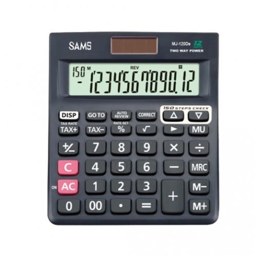 SAMS Mj 120 De Desktop or Office Calculator