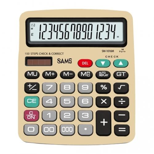 SAMS SM 1016M-GL Desktop or Office Calculator