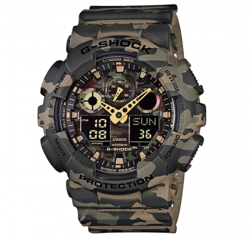 G-Shock Watch For Men GA-100CM-5ADR