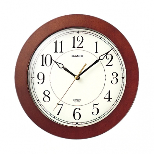 Casio Analog Wall Clock IQ 126-5DF