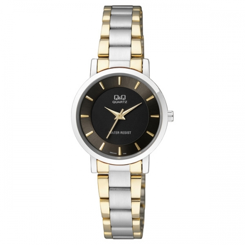 Q&Q Q945J402Y Analog two tone Wrist watch for ladies