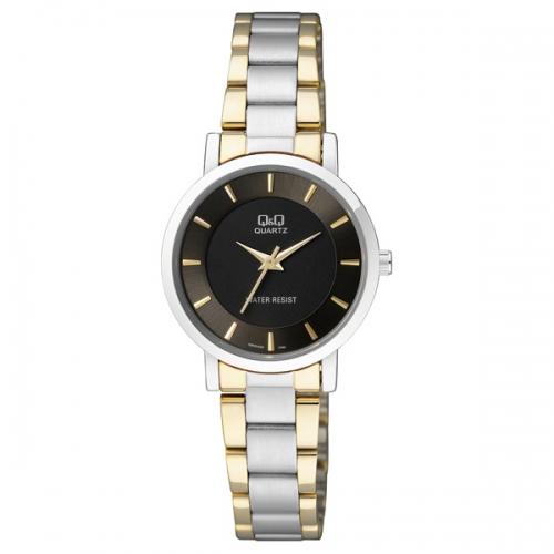 Q&Q Q945J402Y Analog two tone Wrist watch for ladies