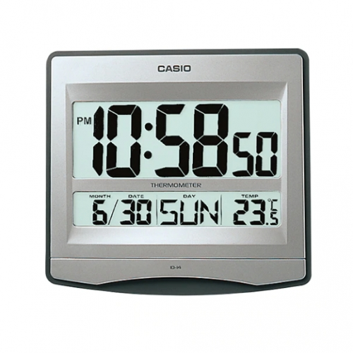 Casio Digital Wall Clock ID 14S-8DF