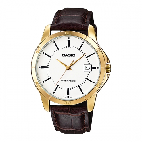 Casio Watches Analog for Men MTP V004GL-7AUDF