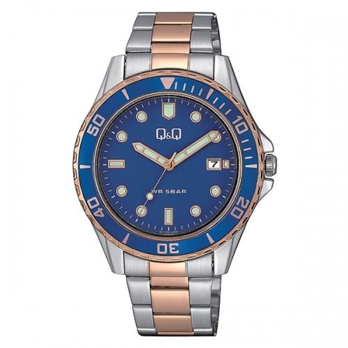 Q&Q A172J422Y Analog Wrist Watch for Men