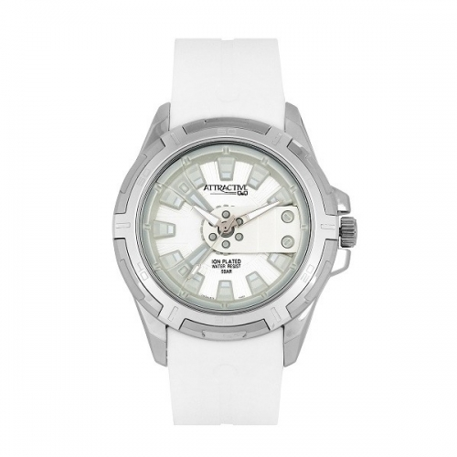 Q&Q DA54J311Y Analog Wrist Watch for Men-White