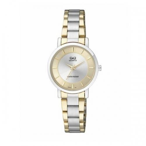 Q&Q Q945J401Y Analog two tone Wrist watch for ladies