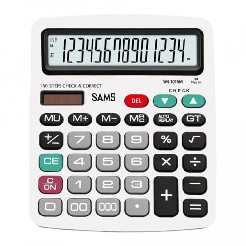 SAMS SM 1016M-SL Desktop or Office Calculator