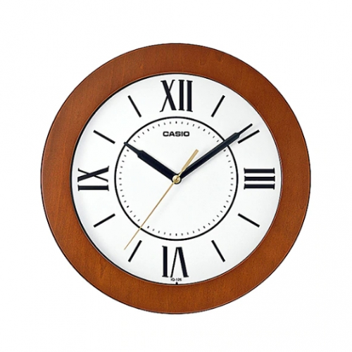Casio Analog Wall Clock IQ 126-5BDF