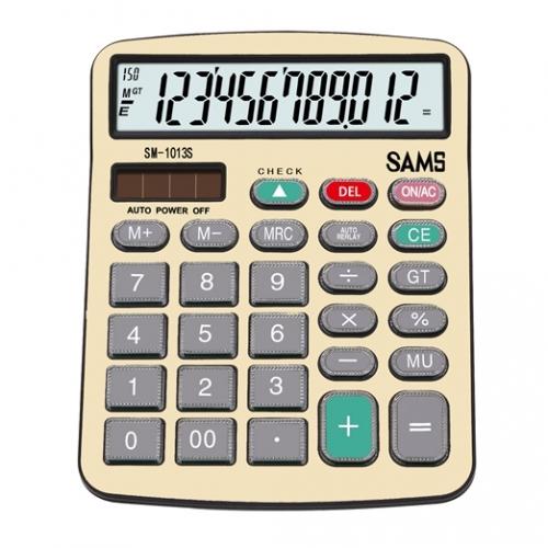 SAMS SM 1013S-G Desktop or Office Calculator