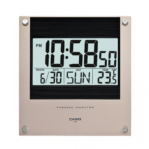 Casio Digital Wall Clock ID 11S-1DF